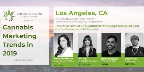 CMA  Los Angeles: Cannabis Marketing Trends in 2019 tickets