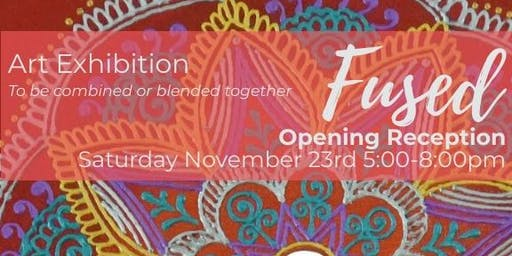 Fused Exhibition - Reception with Artists