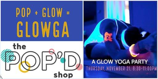 Pop + Glow = Yoga Party!