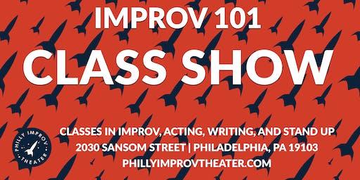 Class Show: Improv 101 with Christina Anthony