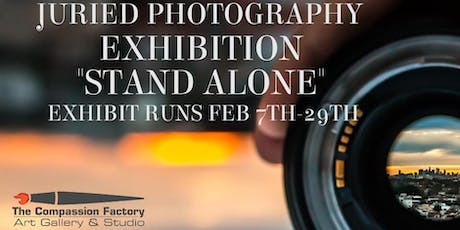 Stand Alone Juried Photography Exhibition tickets