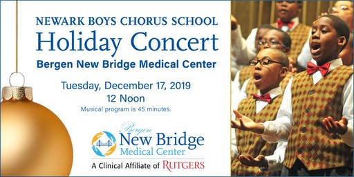Newark Boys Chorus School - Holiday Concert