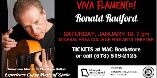 Ronald Radford:  American Master of Flamenco Guitar