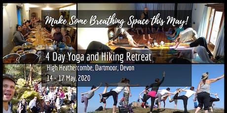 4 Days Hiking and Yoga Retreat in Stunning Devon, UK -  £50 DEPOSIT tickets
