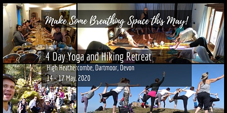 4 Days Hiking and Yoga Retreat in Stunning Devon, UK -  £50 DEPOSIT tickets