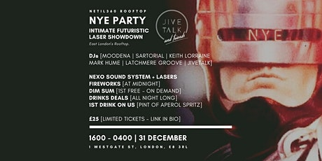 NYE PARTY Intimate Futuristic Laser Showdown [16:00 - 04:00 NEW YEARS EVE] tickets
