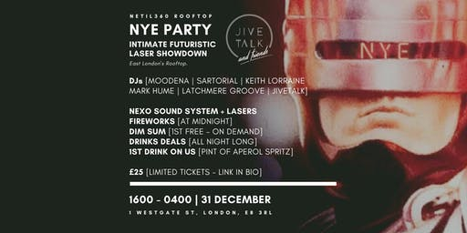 NYE PARTY Intimate Futuristic Laser Showdown