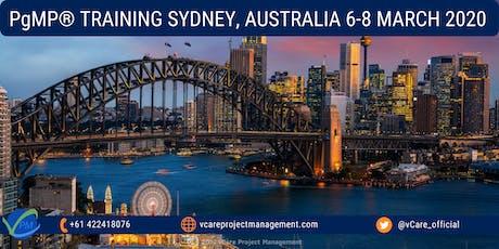 PgMP   Program Management Training   Course   Sydney   March   2020 tickets