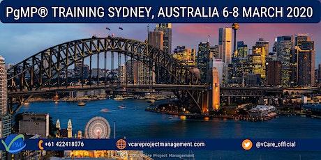 PgMP | Program Management Training | Course | Sydney | March | 2020 tickets