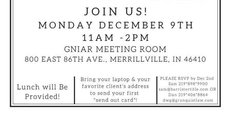 Send Out Card Laptop Lunch and Learn tickets