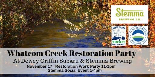 Whatcom Creek Restoration Party