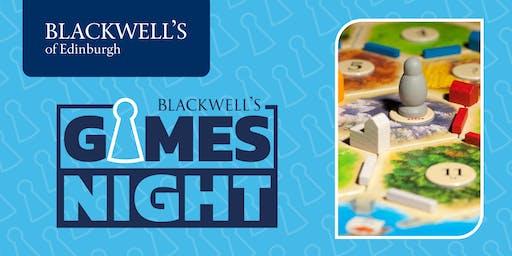 December Blackwell's Games Night