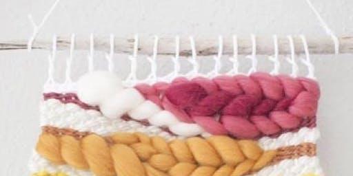 Weaved Wall Hanging Workshop