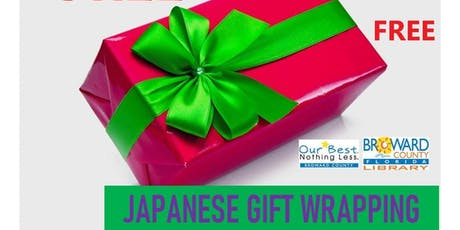 Celebrate by WRAPPING: Japanese Style gift wrapping West Regional Library tickets