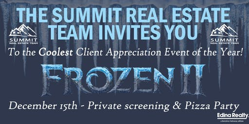 Frozen Client Appreciation Event