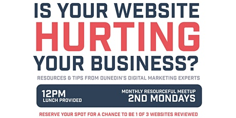Is your Website Helping or Hurting your Business?  tickets