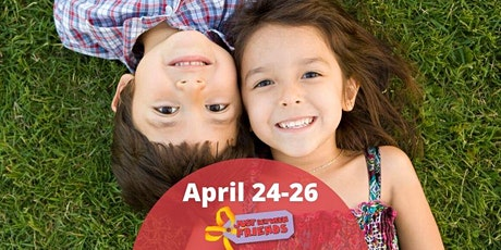 FREE General Admission (Reg. $3)- Friday April 24th 4-8:30pm (Children Must be Supervised! They are not permitted to open or play with the toys.) tickets