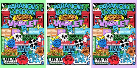 Breezeblock :: Boxing Day :: Paranoid London Live :: Violet tickets