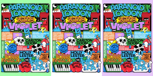 Breezeblock :: Boxing Day :: Paranoid London Live :: Violet