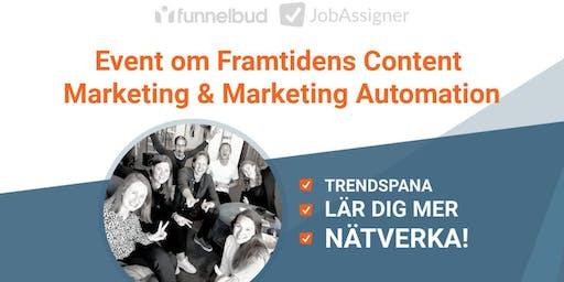 Framtidens Content Marketing med JobAssigner och Funnelbud