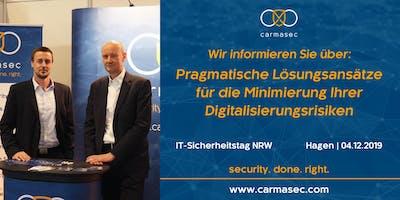 carmasec auf dem IT-Sicherheitstag NRW