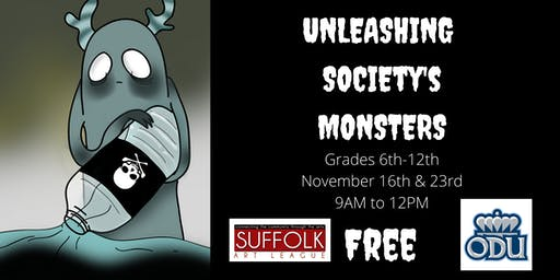 Unleashing Society's Monsters: A Secondary Level Kids Art Course