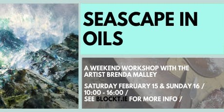 Seascape Painting in Oils with the Palette Knife // Weekend Workshop tickets