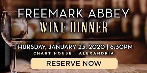 Chart House Freemark Abbey Wine Dinner- Alexandria, VA
