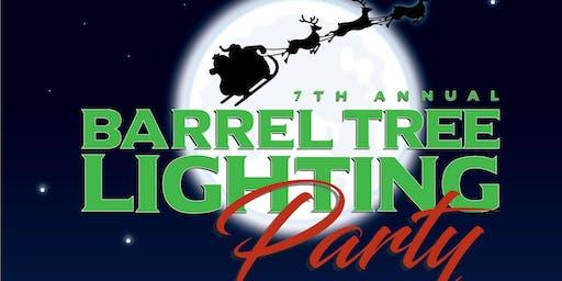 Siesta Key Rum 7th Annual Barrel Tree Lighting Party