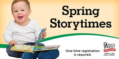 Spring Pre-School Storytime