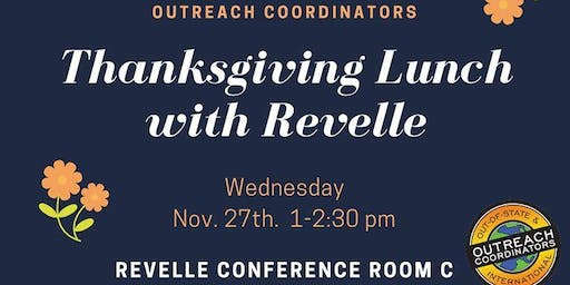 Thanksgiving Lunch with Revelle