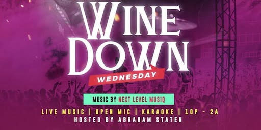 Wind Down Wednesday Live!!