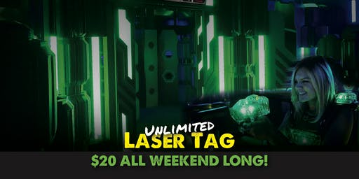 Grand Opening: Brand New Laser Tag Arena!
