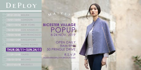 Bicester Village Pop-Up with Maiyet Collective tickets