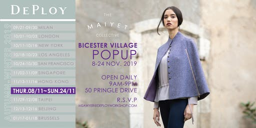 Bicester Village Pop-Up with Maiyet Collective