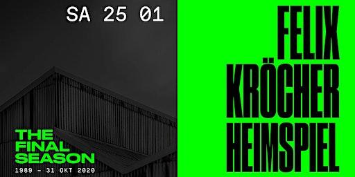 Felix Kröcher: Das Heimspiel im Loft