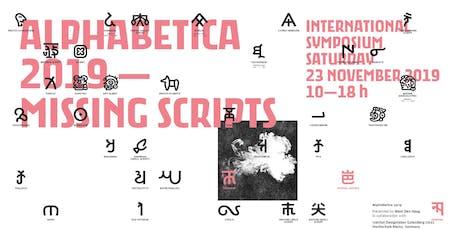 Alphabetica Symposium tickets