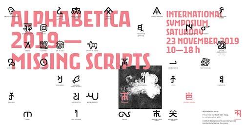 Alphabetica Symposium