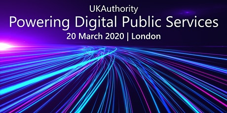 Powering Digital Public Services 2020 tickets