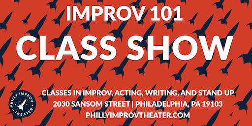 Class Show: Improv 101 with Greg Maughan