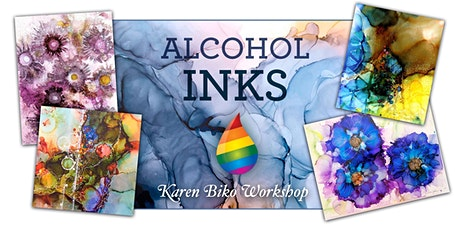 Alcohol Inks Workshop with Karen Biko tickets