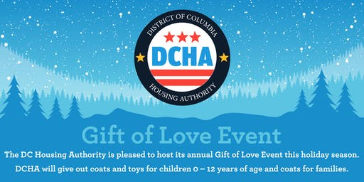 DCHA 's Gift of Love Event
