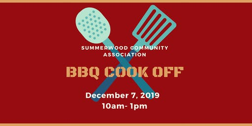 Summerwood BBQ Cook off