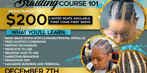 Look and Learn with J and Tae : Braiding Course 101