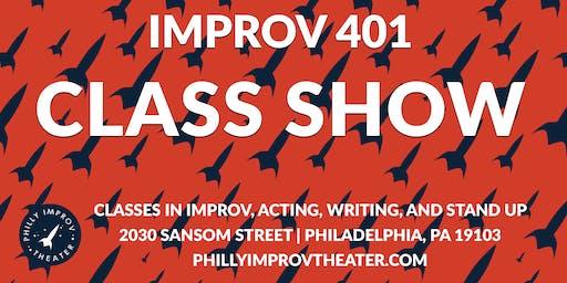 Class Show: Improv 401 with Tia Kemp