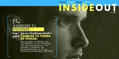 "Inside out talks 01, ""Expande tu mindset"""