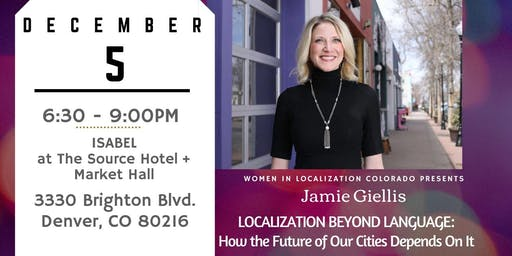 December WLCO Event - Chat with Jamie Giellis