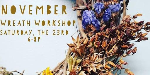 November Wreath Workshop