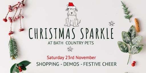 Christmas Sparkle Shopping Event For Pet Owners