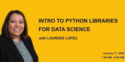 Intro to Python Libraries for Data Science